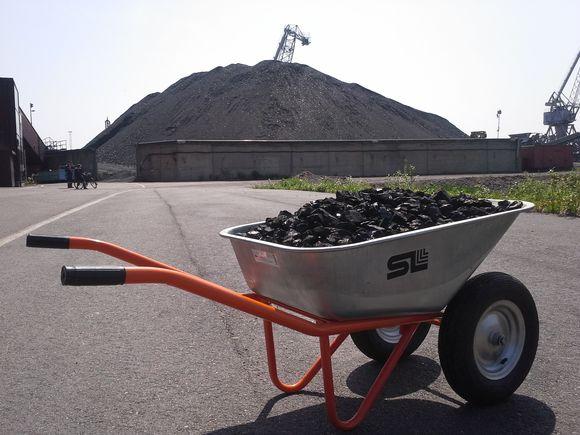 Helsinki still burns the equivalent of 17 wheelbarrow loads worth of coal per capita annually. (Petteri Juuti / Yle)