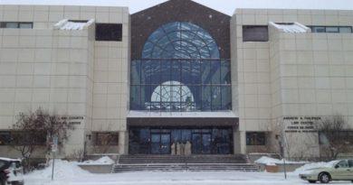 La Cour suprême du Yukon, à Whitehorse. (ICI Radio-Canada)