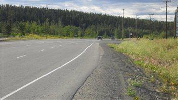 L'autoroute de l'Alaska  Photo :  Gouvernement du Yukon