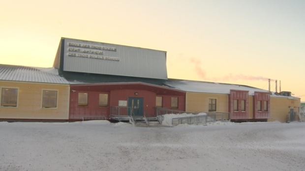 École des Trois-Soleils à Iqaluit. (Shaun Malley/CBC)