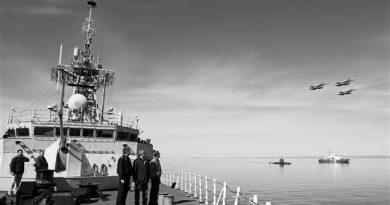 Opération Nanook en 2009 dans le Nord canadien: opération menée chaque année depuis 2007 pour y assurer la souveraineté et la sécurité du pays. (Courtoisie Alain Labonté Communications/RCI)