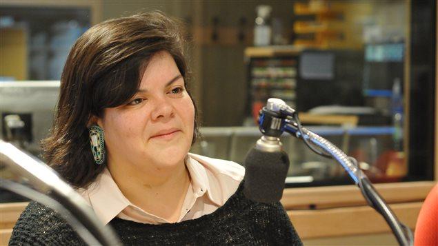 Mélissa Mollen Dupuis. (Radio-Canada)