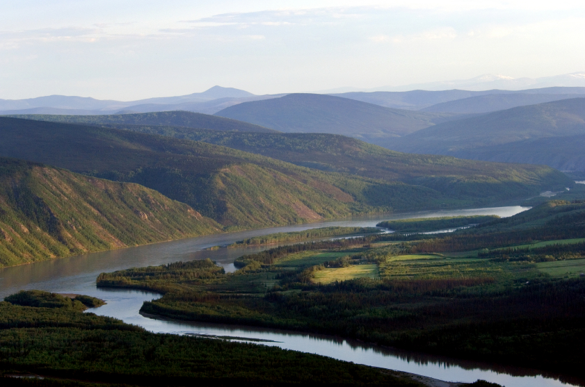 The Yukon River near Dawson City, Yukon, Canada. (iStock)