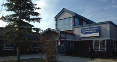 L'École Émilie-Tremblay à Whitehorse. (Claudiane Samson/ICI Radio-Canada)