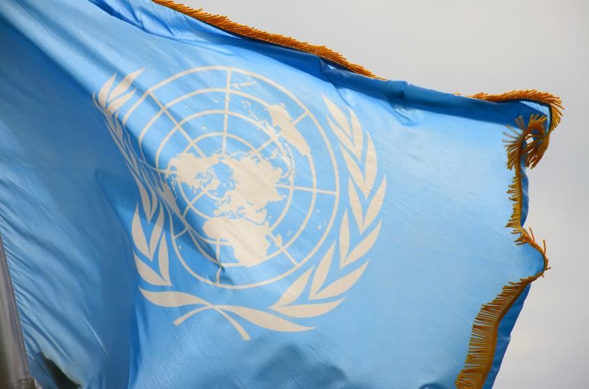 Le drapeau de l'ONU. (iStock)
