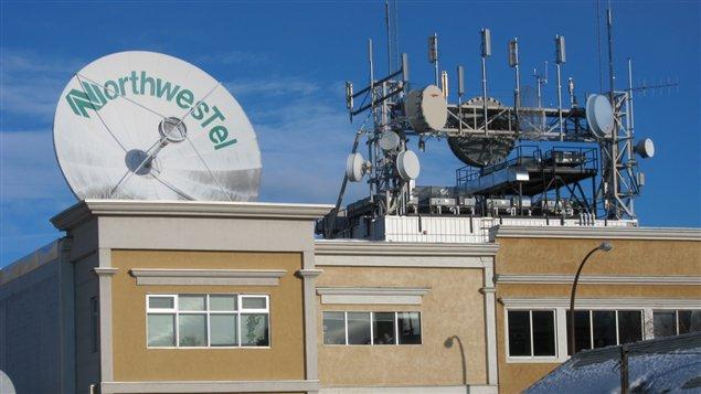 Le fournisseur en télécommunications Northwestel croit répondre à la demande du marché avec son nouveau forfait. (Christian Molgat/ICI Radio-Canada)