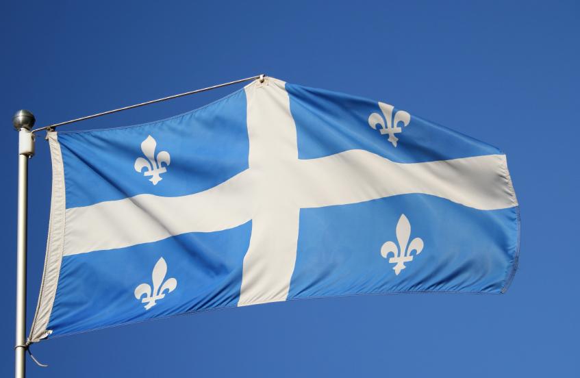 Le drapeau du Québec. (iStock)