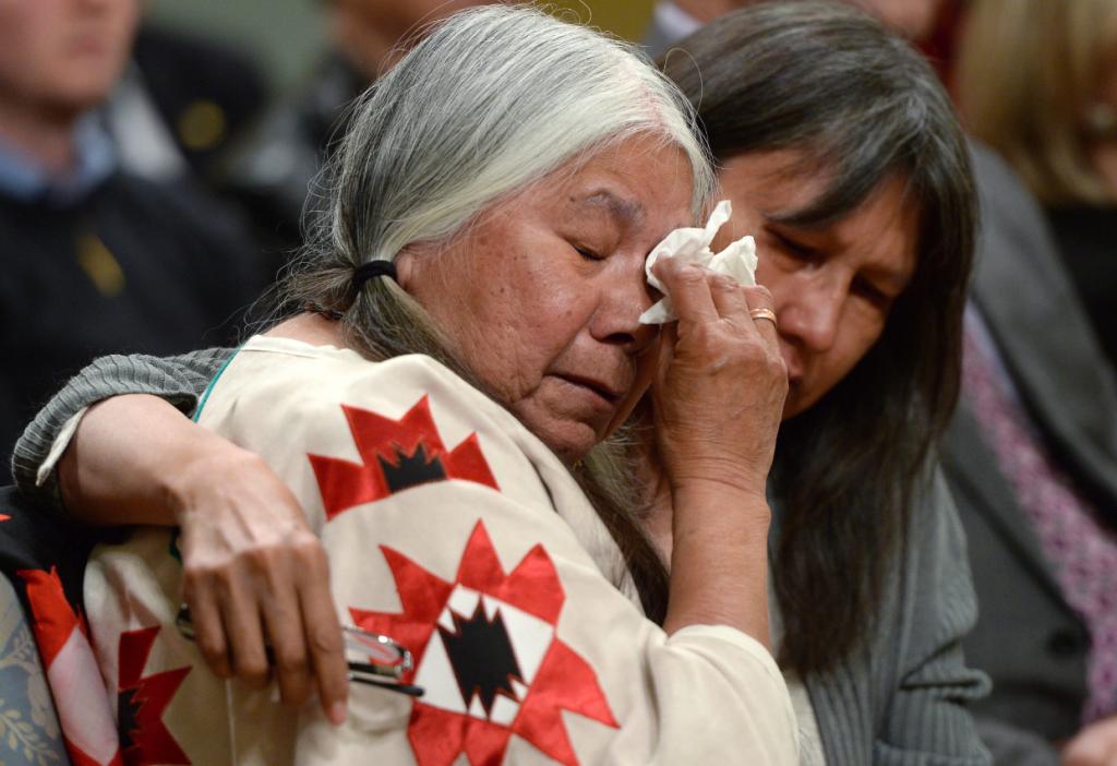 La Commission de vérité et réconciliation à Ottawa. Est-ce que les questions autochtones ont eu une meilleure visibilité dans les médias de masse au Québec en 2015 que durant les années précédentes? (Sean Kilpatrick/La Presse Canadian)