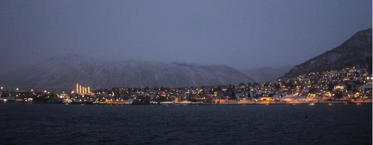 La conférence sur l'Arctique frontières se tient cette semaine dans la ville arctique de Tromso, en Norvège. (Eilís Quinn / Regard sur l'Arctique)