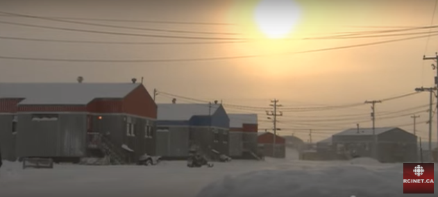 Puvirnituq, Nunavik, Québec. (Regard sur l'Arctique/Radio Canada International)