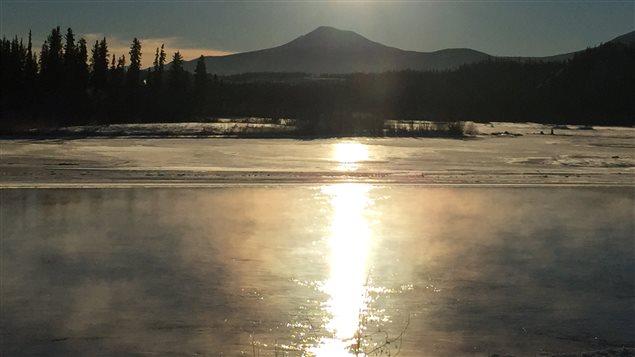 Les températures au Yukon se sont réchauffées au cours des 50 dernières années, surtout l'hiver. (Claudiane Samson/ICI Radio-Canada)