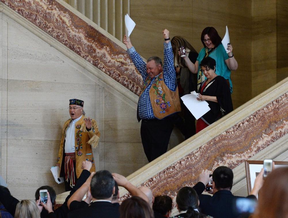Les Métis et les Indiens non inscrits sont des « Indiens » au sens de la loi, a tranché ce matin la Cour suprême du Canada. Sean Kilpatrick/THE CANADIAN PRESS
