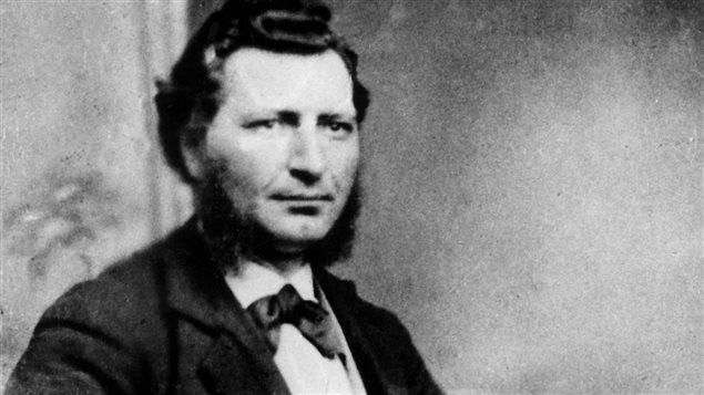 Louis Riel, grand défenseur du peuple Métis, est considéré par certains comme le père du Manitoba. © Archives du Manitoba