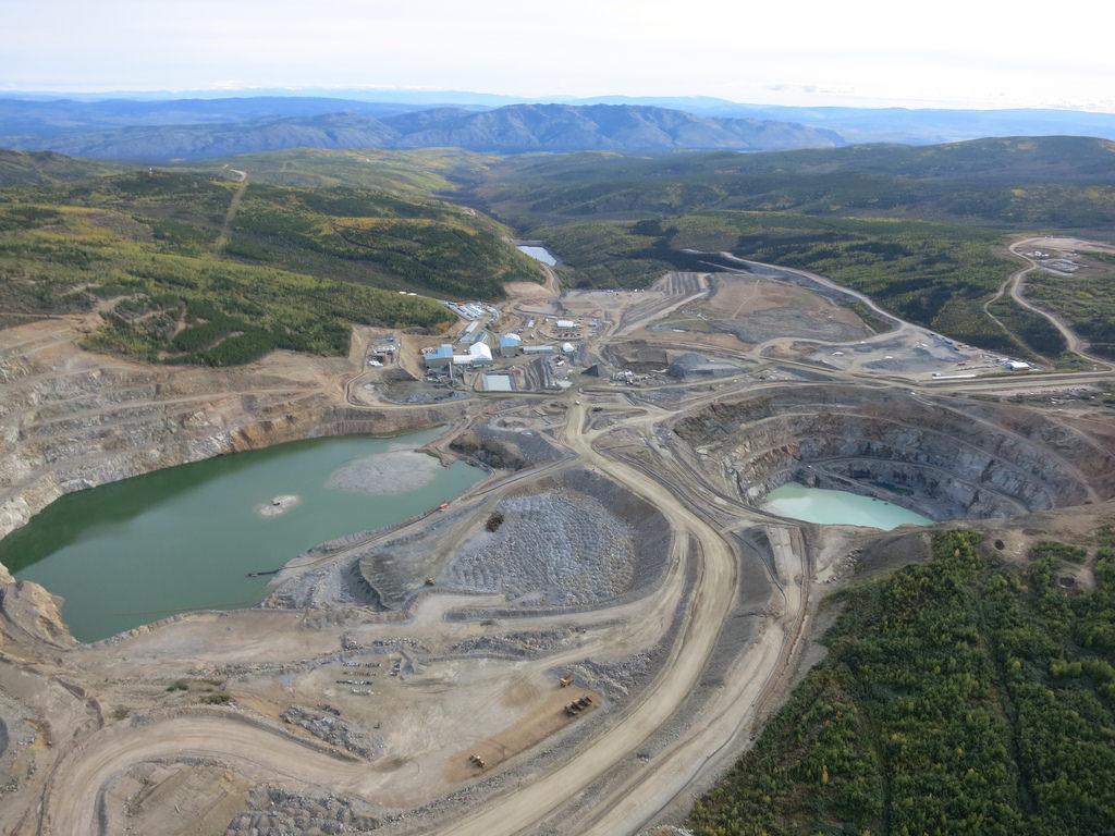 La mine Minto, au Yukon. Photo: Capstone Mining Corp