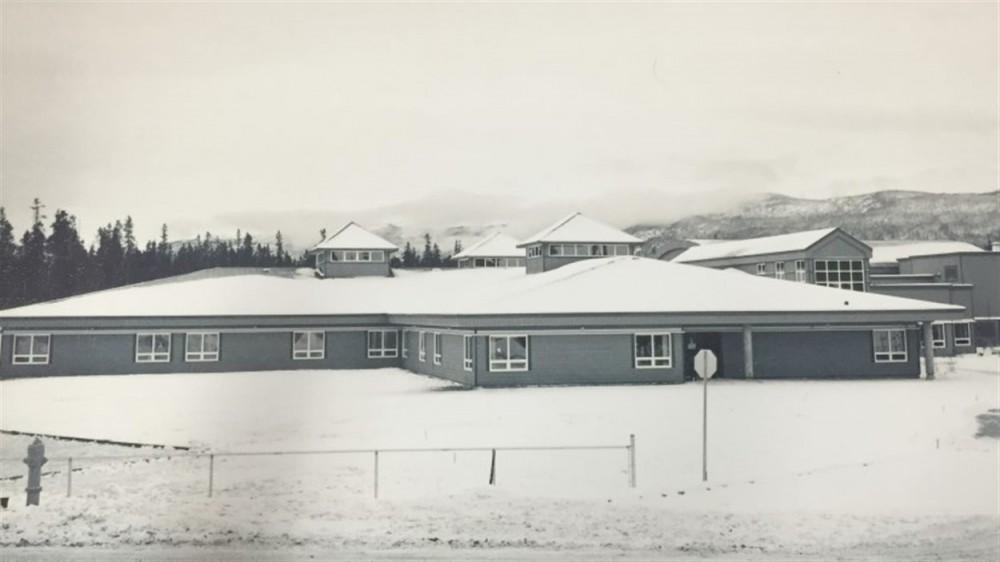 L'édifice de l'École Émilie-Tremblay est complété. Photo : archives de l'Aurore boréale