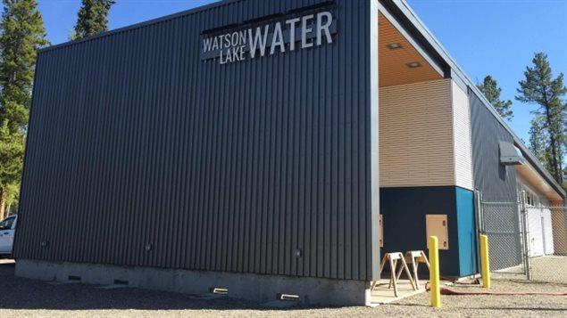 L'usine d'épuration d'eau de Watson Lake. (Dave Croft/CBC)