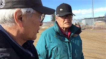 Les aînés de Old Crow observent depuis des années le réchauffement climatique. (Cheryl Kawaja/ICI Radio-Canada)