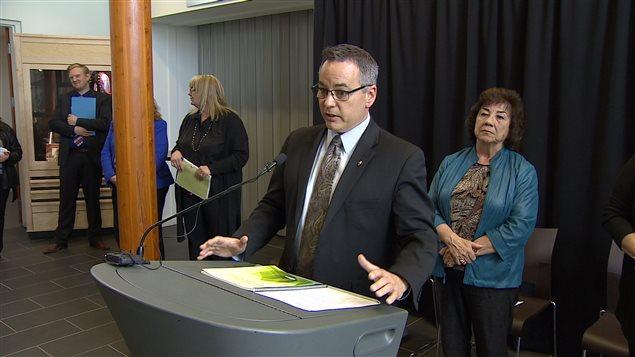 La stratégie du Yukon en santé mentale a été élaborée et dévoilée avec les Premières Nations du territoire. (Wayne Vallevand/ICI Radio-Canada)