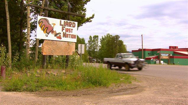 Les bureaux de la Première Nation Liard sont situés à Upper Liard et à Watson Lake. (Philippe Morin/ICI Radio Canada)