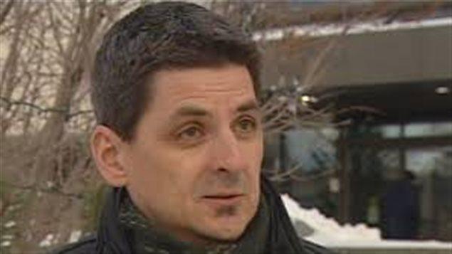 André Bourcier, candidat du NPD du Yukon pour la circonscription de Copperbelt North. (CBC)