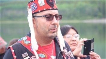 Duane Aucoin, un conseiller de la Première Nation Teslin Tlingit au Yukon. (Mike Rudyk/CBC)