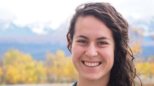 Alex Bouchard, de Haines Junction, est une Franco-Yukonnaise qui siège au Conseil jeunesse du premier ministre. (@ALEXPMYC/TWITTER)
