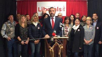 Sandy Silver du Parti libéral au Yukon. (Claudiane Samson/Radio-Canada)