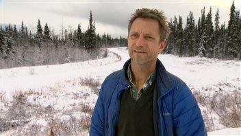 Philippe Leblond est candidat pour le Parti vert. (Yvan Côté/Radio-Canada)