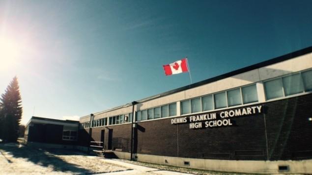 L'école secondaire Dennis Franklin Cromarty à Thunder Bay est considéré comme un excellent modèle pour l'éducation des membres des Premières Nations, selon un rapport du Northern Policy Institute. (Marc Apollonio/CBC