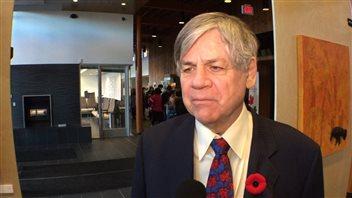 Le député fédéral du Yukon, Larry Bagnell, craint que la lutte pour la protection de l'Arctique soit difficile sous le nouveau gouvernement américain. (Claudiane Samson/Radio-Canada)