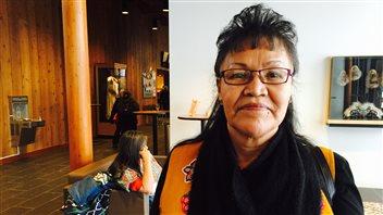 Lorraine Netro de la Première Nation Vuntut Gwitchin milite depuis des décennies pour la protection de la harde de caribous Porcupine. (CBC)