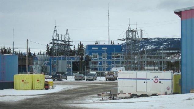Une centrale électrique au Yukon. (Christian Molgat/Radio-Canada)