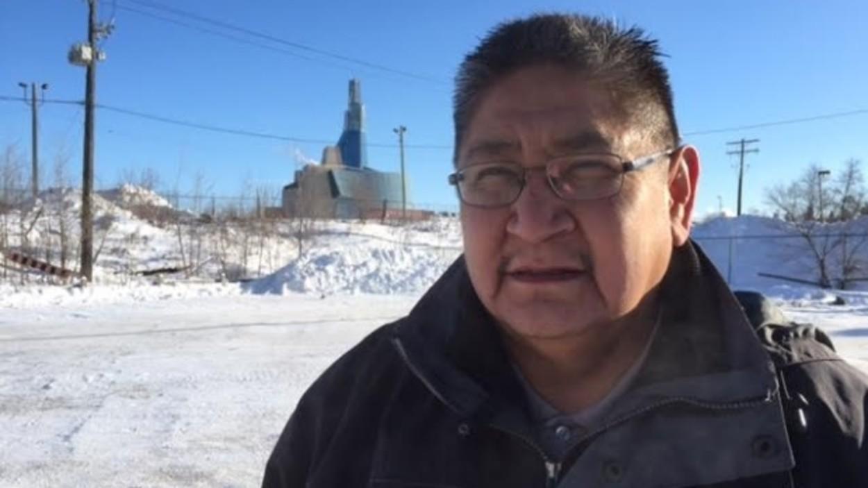 Erwin Redsky, le chef de la Première Nation de Shoal Lake. (Radio-Canada)