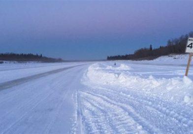 L'ouverture d'une route de glace à nouveau retardée dans le nord-est de l'Ontario