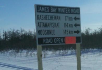 La route de glace enfin ouverte le long de la côte ouest de la baie James