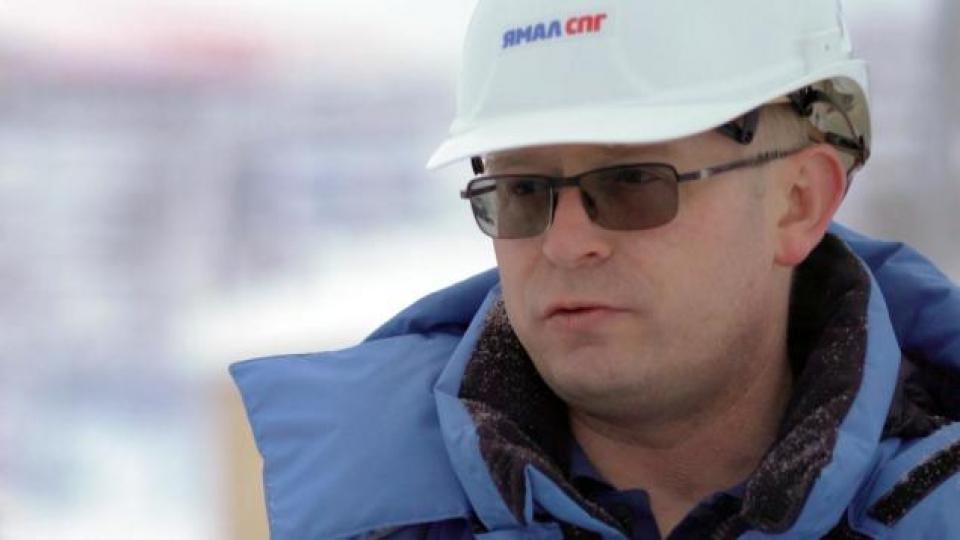 Dimitry Fomin, directeur du chantier de l'usine de liquéfaction. (Alex Sergeev/Radio-Canada)