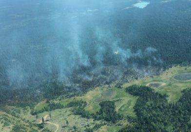 Une dizaine de nouveaux feux de forêt en 24 heures dans le Nord-Ouest canadien