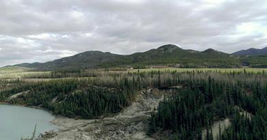 Le pergélisol du Yukon et de l'Alaska à risque après un été pluvieux