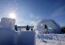 Un immense igloo au cœur d'un festival canadien valorisant l'art et la culture inuit