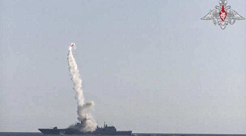 Mer de Barents : la Russie teste avec succès son missile hypersonique Zircon