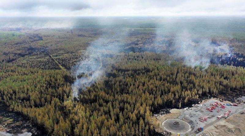 La Finlande subit son plus grand feu de forêt en 50 ans