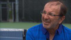 Louis Borfiga, l'homme derrière le développement de l'élite de tennis au Canada.