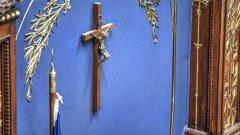 Le crucifix au Salon bleu de l'Assemblée nationale du Québec - Radio-Canada/Bernard Huard
