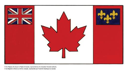 加拿大军人在红船旗下参加了两次世界大战。两次战后加拿大政府都做过推出自己的国旗的努力,但是全国无法就此达成共识。法语省份魁北克省对米字旗一点也不留恋,最支持换国旗。但是许多英裔加拿大人却愿意保留英国的象征。 1964年,时任加拿大总理皮尔逊决意大力推动新国旗的设计。