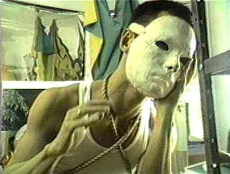 房惠晴《性取向》(1984)中的一个镜头。Richard Fung提供。