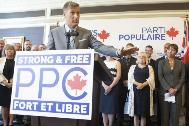 加拿大人民党的移民候选人支持减少移民