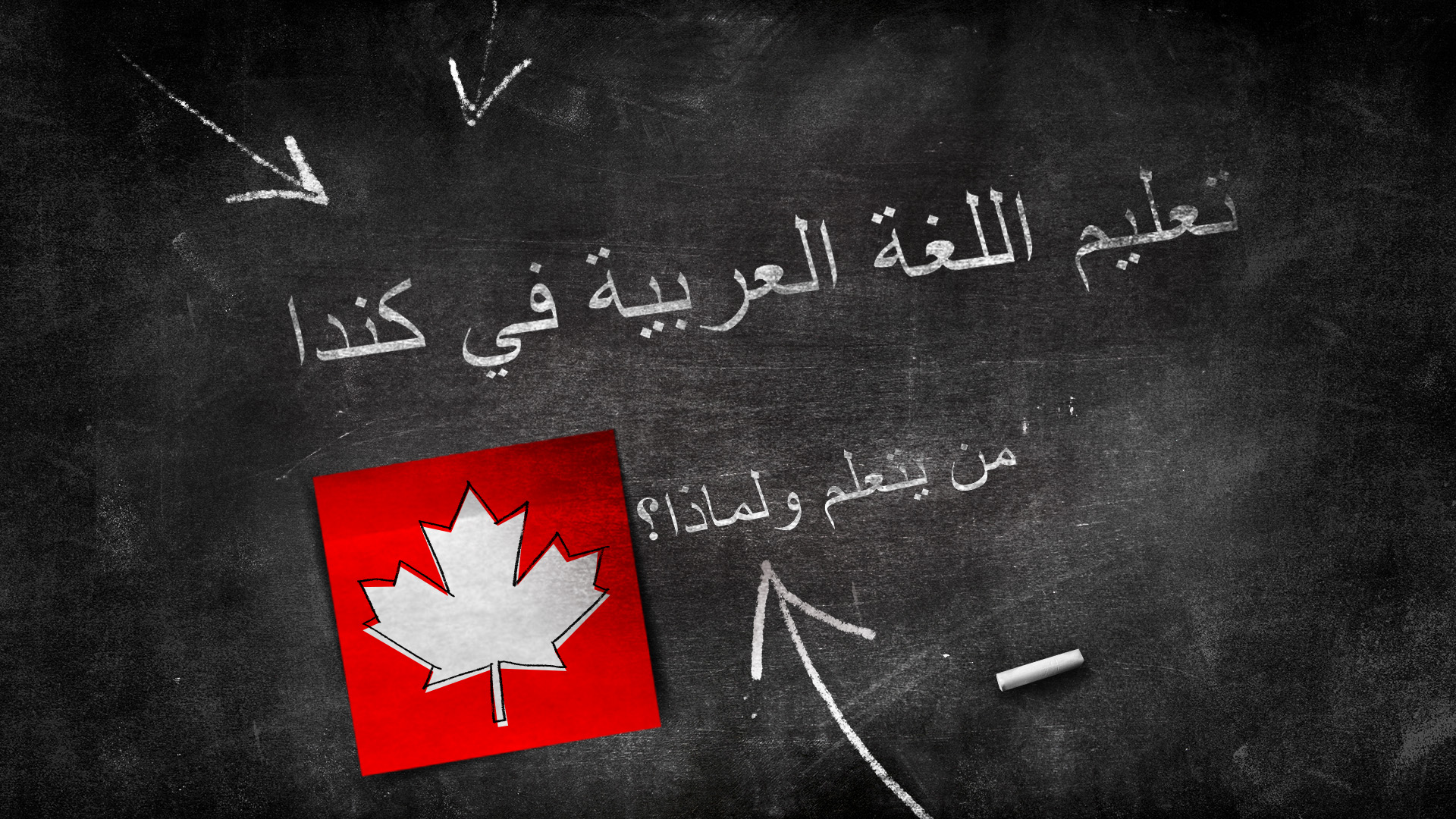 تعليم اللغة العربيّة في كندا