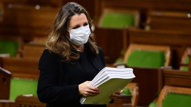 加拿大还要为疫情花多少钱?财长公布秋季财政报告