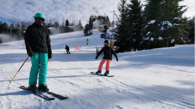 疫情下魁北克省滑雪场已经纷纷开放