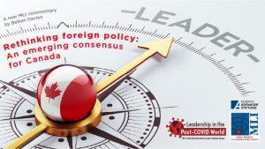 加拿大新民调显示:国民支持外交政策基于民主价值